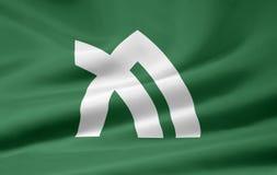 Bandeira de Kagawa - Japão Imagens de Stock