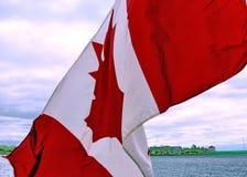 Bandeira de Kingston Waving Canadá do maio de 2008 Imagem de Stock