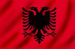 Bandeira de Kosovo ilustração do vetor