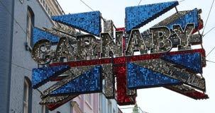 Bandeira de Londres Union Jack 3D do Carnaby Street