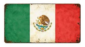 Bandeira de México fotos de stock royalty free