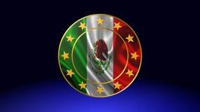 Bandeira de México, animação