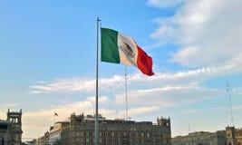 A bandeira de México foto de stock