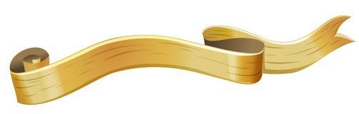 Bandeira de madeira Imagens de Stock