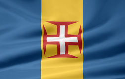 Bandeira de Madeira Fotos de Stock