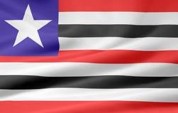 Bandeira de Maranhao Imagem de Stock