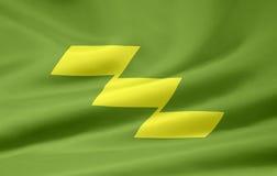 Bandeira de Miyazaki - Japão Imagens de Stock Royalty Free