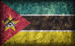 Bandeira de Moçambique Fotos de Stock Royalty Free
