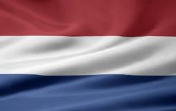 Bandeira de Netherland Foto de Stock