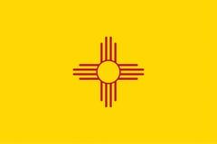 Bandeira de New mexico ilustração stock