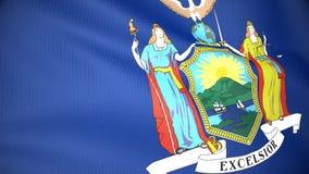 Bandeira de New York ilustração royalty free