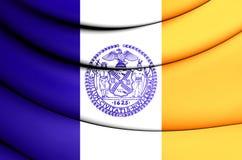 Bandeira de New York City, EUA Fotografia de Stock Royalty Free