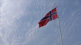 Bandeira de Noruega do norueguês filme