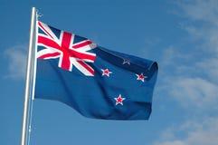 Bandeira de Nova Zelândia Imagens de Stock Royalty Free
