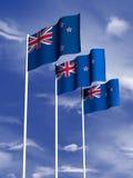 Bandeira de Nova Zelândia Foto de Stock Royalty Free