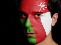 Bandeira de Omã Fotos de Stock Royalty Free