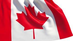 Bandeira de ondulação de Canadá ilustração royalty free