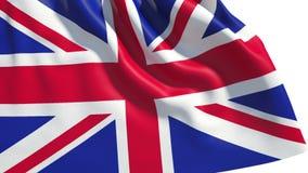Bandeira de ondulação de Grâ Bretanha ilustração royalty free