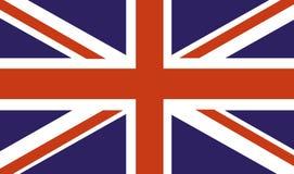 Bandeira de país BRITÂNICA Imagem de Stock
