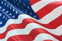 Bandeira de país dos EUA Foto de Stock Royalty Free