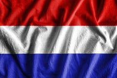 Bandeira de Países Baixos Foto de Stock Royalty Free