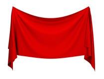 Bandeira de pano Imagem de Stock