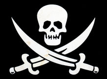 Bandeira de pirata Foto de Stock Royalty Free