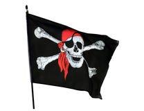 Bandeira de pirata Imagem de Stock