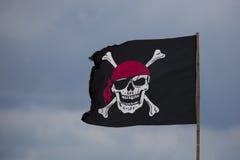 Bandeira de pirata Fotos de Stock Royalty Free
