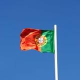 A bandeira de Portugal Foto de Stock Royalty Free