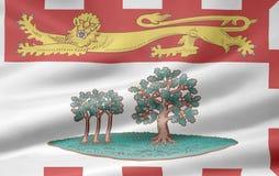 Bandeira de Prince Edward Island Fotografia de Stock Royalty Free