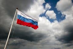 Bandeira de Rússia Fotos de Stock