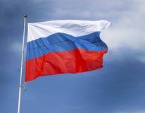 Bandeira de Rússia fotos de stock royalty free