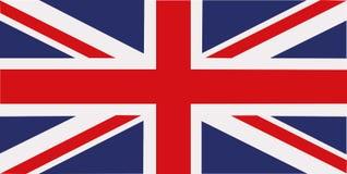 Bandeira de Reino Unido ilustração royalty free