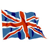 Bandeira de Reino Unido Imagens de Stock Royalty Free