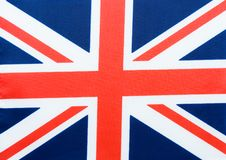 Bandeira de Reino Unido Imagens de Stock