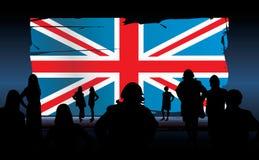 Bandeira de Reino Unido Foto de Stock