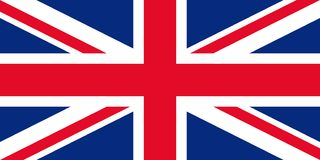 Bandeira de Reino Unido, Grâ Bretanha, Irlanda do Norte Ilustração do vetor ilustração stock