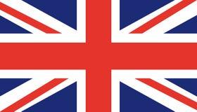 Bandeira de Reino Unido Reino Unido Inglaterra Ilustração lisa na moda do vetor de Grâ Bretanha Símbolo britânico ilustração stock