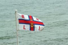 Bandeira de RNLI. imagens de stock