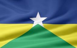 Bandeira de Rondonia Fotos de Stock
