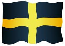 Bandeira de Saint David Of Wales ilustração stock