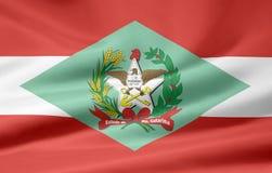 Bandeira de Santa Catarina Foto de Stock Royalty Free