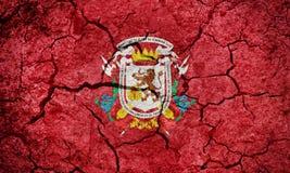 Bandeira de Santiago de León de Caracas fotografia de stock royalty free
