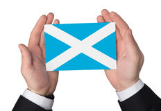 Bandeira de Scotland Imagem de Stock Royalty Free
