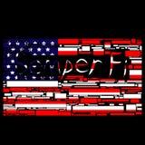 Bandeira de Semper Fi ilustração do vetor