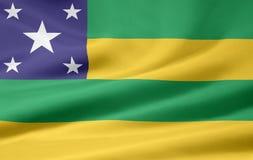 Bandeira de Sergipe Fotos de Stock
