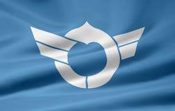 Bandeira de Shiga- Japão Foto de Stock
