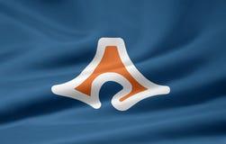 Bandeira de Shizuoka - Japão Fotografia de Stock