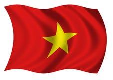 Bandeira de Socialist Republic Of Vietnam de Fotografia de Stock